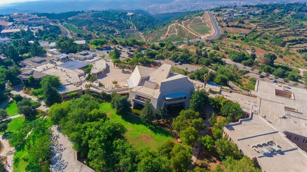 aerial shot of yeshiva 2018